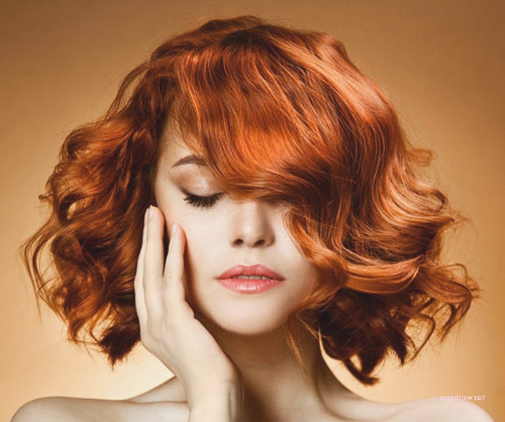 Short Hairstyles For Curly Red Hair Inspirational Curly Hairstyles For Short Hairstyles With Red Hair (View 24 of 25)