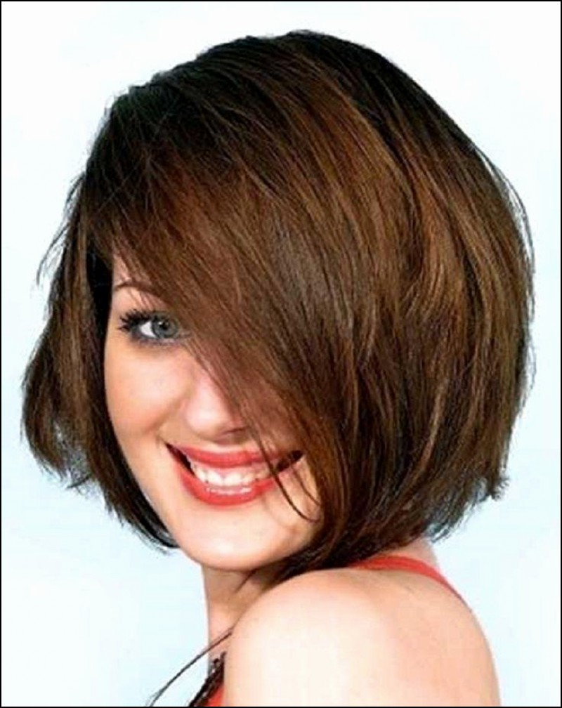 Short Hairstyles For Fat Faces And Double Chins Curly Hair | New Pertaining To Short Hairstyles For Round Faces With Double Chin (View 13 of 25)