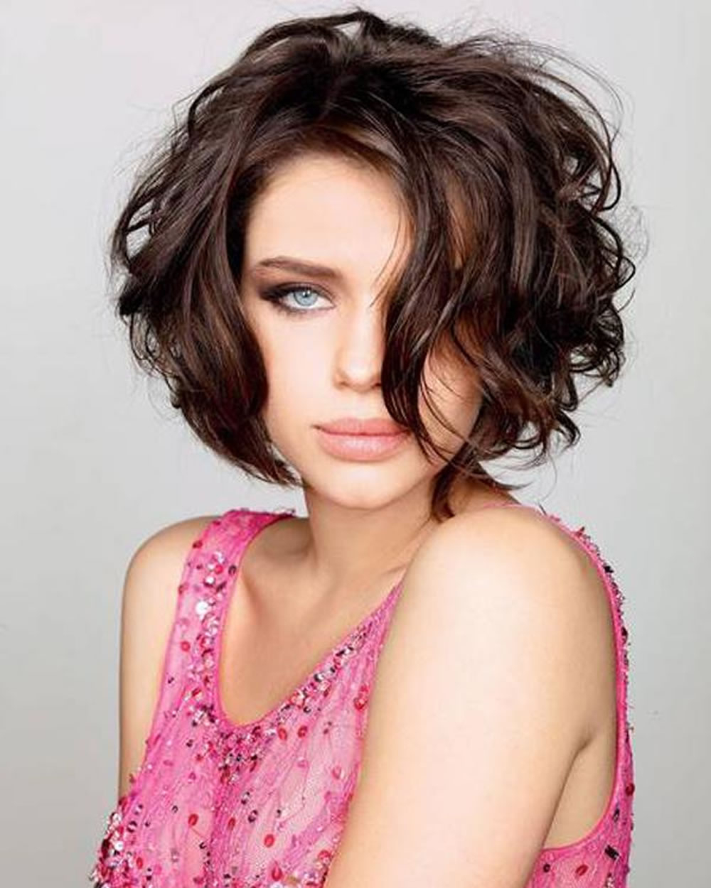 Short Hairstyles For Fine Curly Hair | Hair And Hairstyles With Short Hairstyles For Fine Curly Hair (View 24 of 25)
