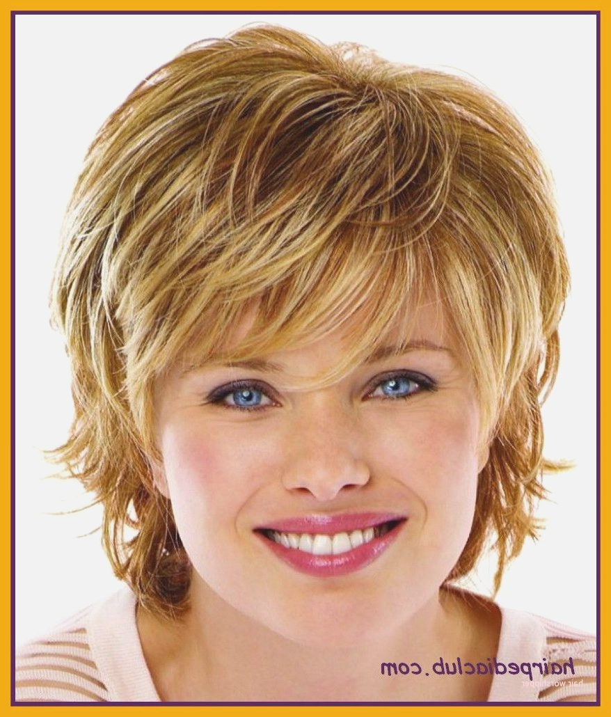 Short Hairstyles For Fine Wavy Hair Round Face Fresh Fascinating With Short Haircuts For Wavy Hair And Round Faces (View 19 of 25)