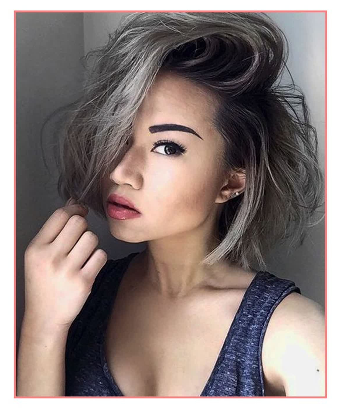 Short Hairstyles For Gray Hair | Uphairstyle Pertaining To Gray Hair Short Hairstyles (View 14 of 25)