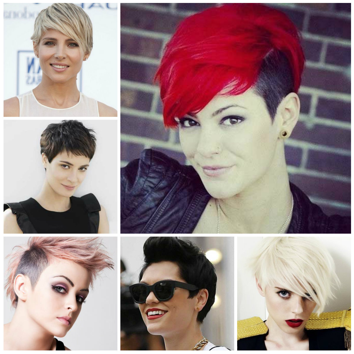 Short Hairstyles For Long Face Shapes – Hairstyle For Women & Man Within Short Haircuts For Different Face Shapes (View 17 of 25)