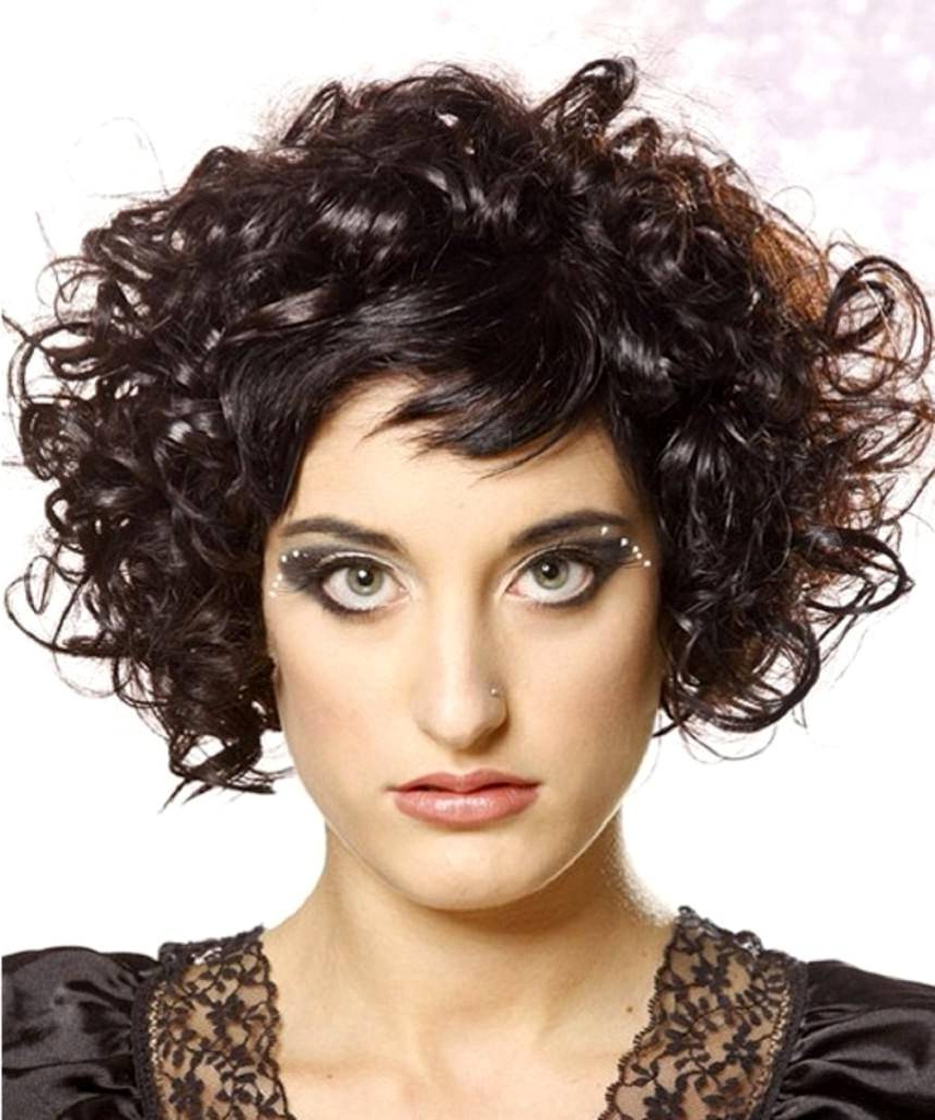 Short Hairstyles For Natural Curly Hair – Amazinghairstyle (View 19 of 25)