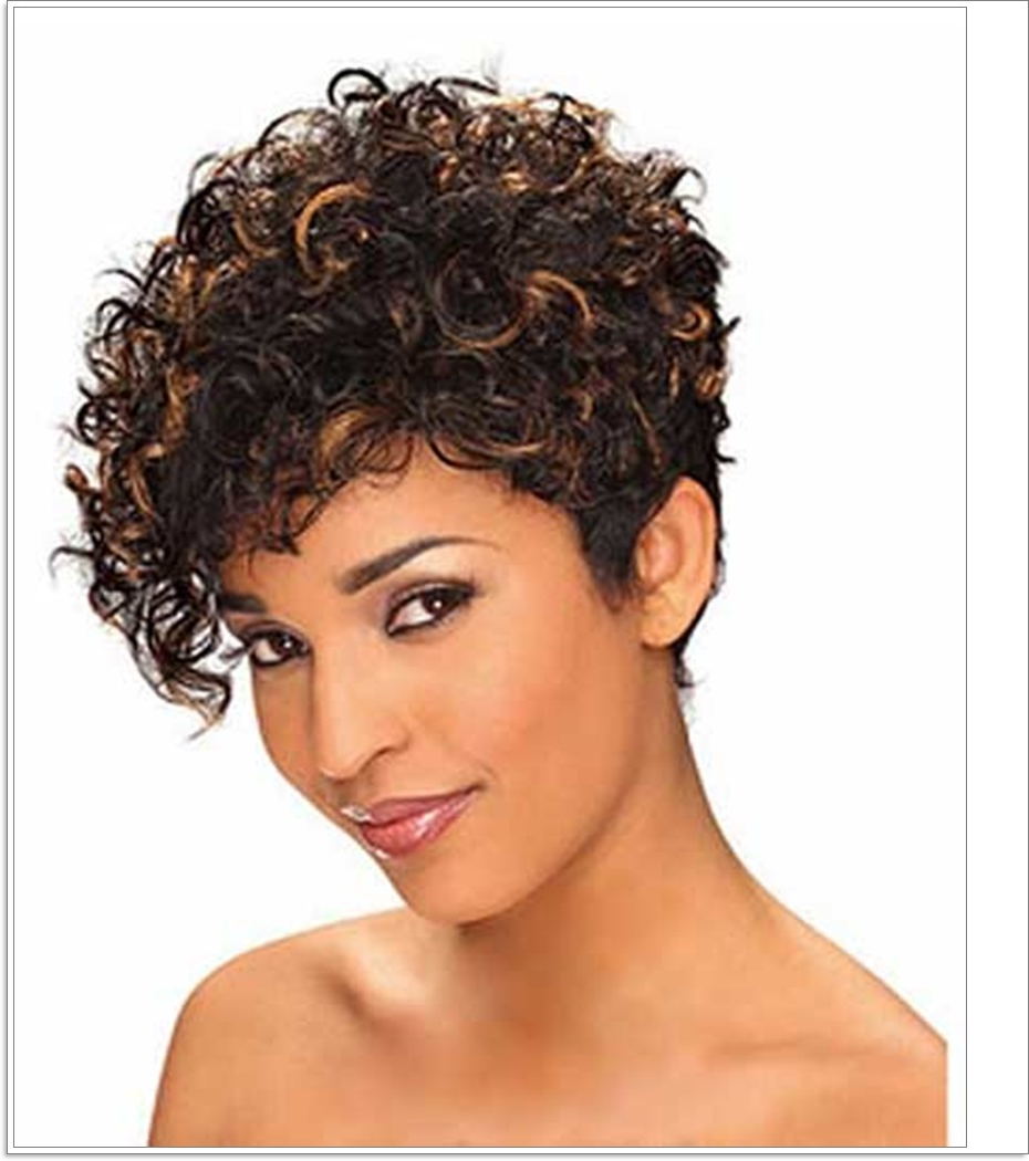 Short Hairstyles For Naturally Curly Hair – Hairstyles 2018 Within Naturally Curly Short Hairstyles (View 13 of 25)