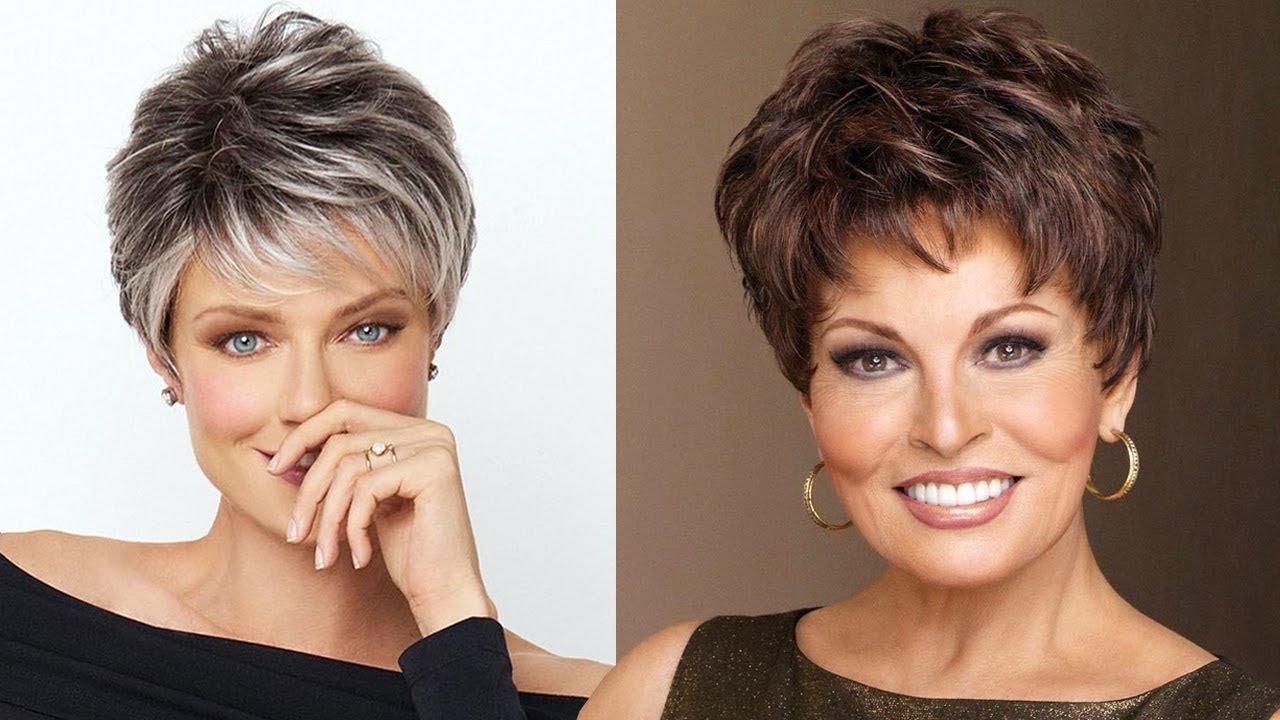 Short Hairstyles For Older Women 2018 2019 | Short Hair Hairstyles Inside Older Women Short Haircuts (View 2 of 25)