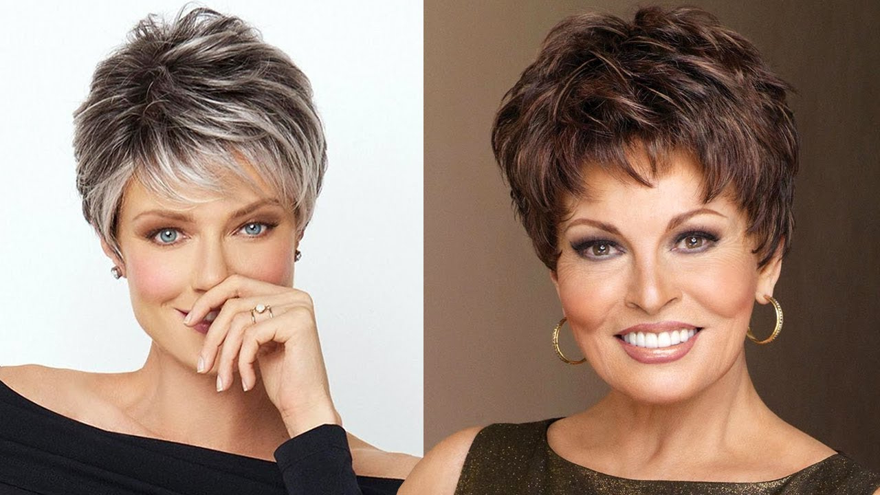 Short Hairstyles For Older Women 2018 2019 | Short Hair Hairstyles Inside Short Trendy Hairstyles For Women (View 19 of 25)