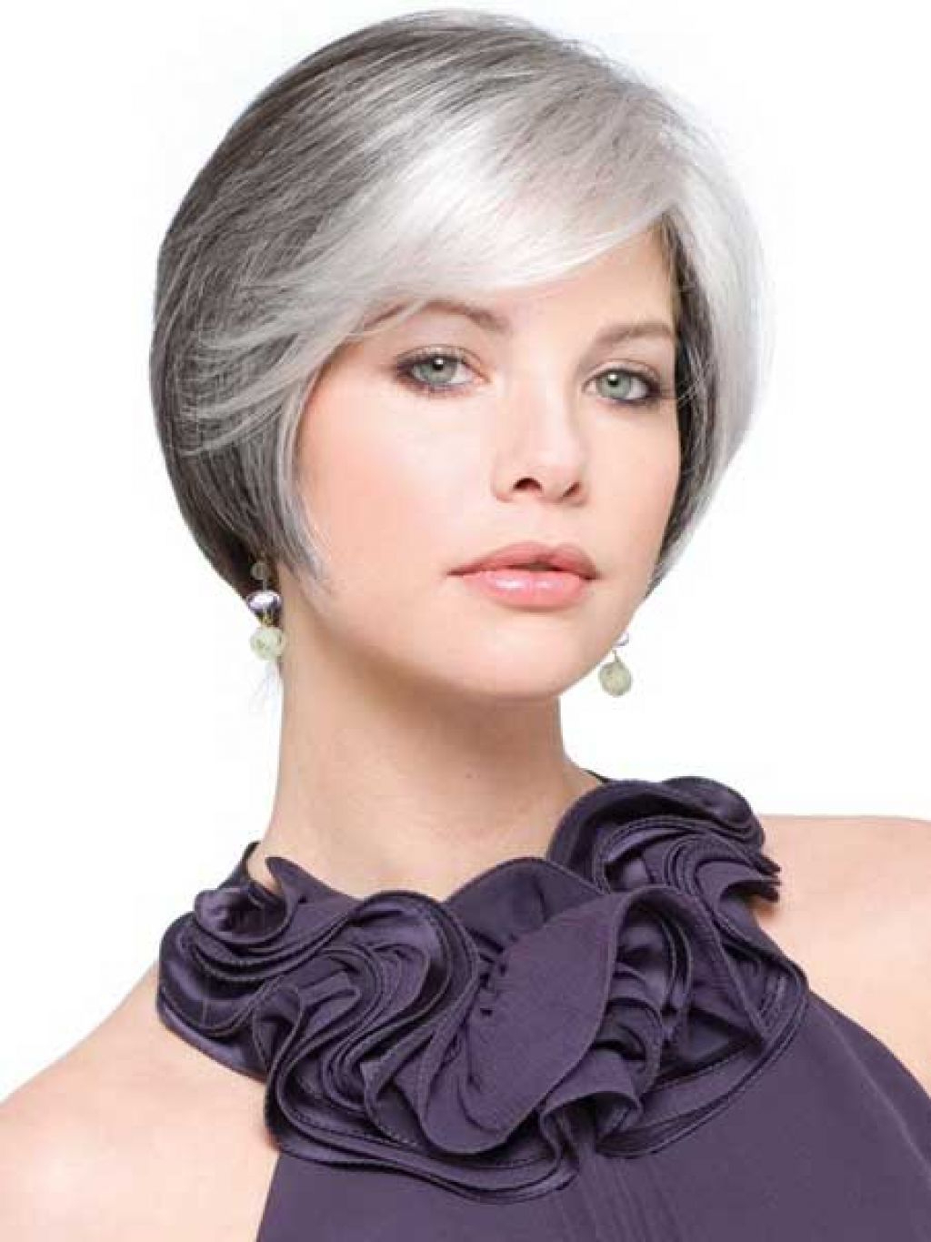 Short Hairstyles For Older Women With Gray Hair  | Haircut'smen Inside Short Haircuts For Gray Hair (View 24 of 25)