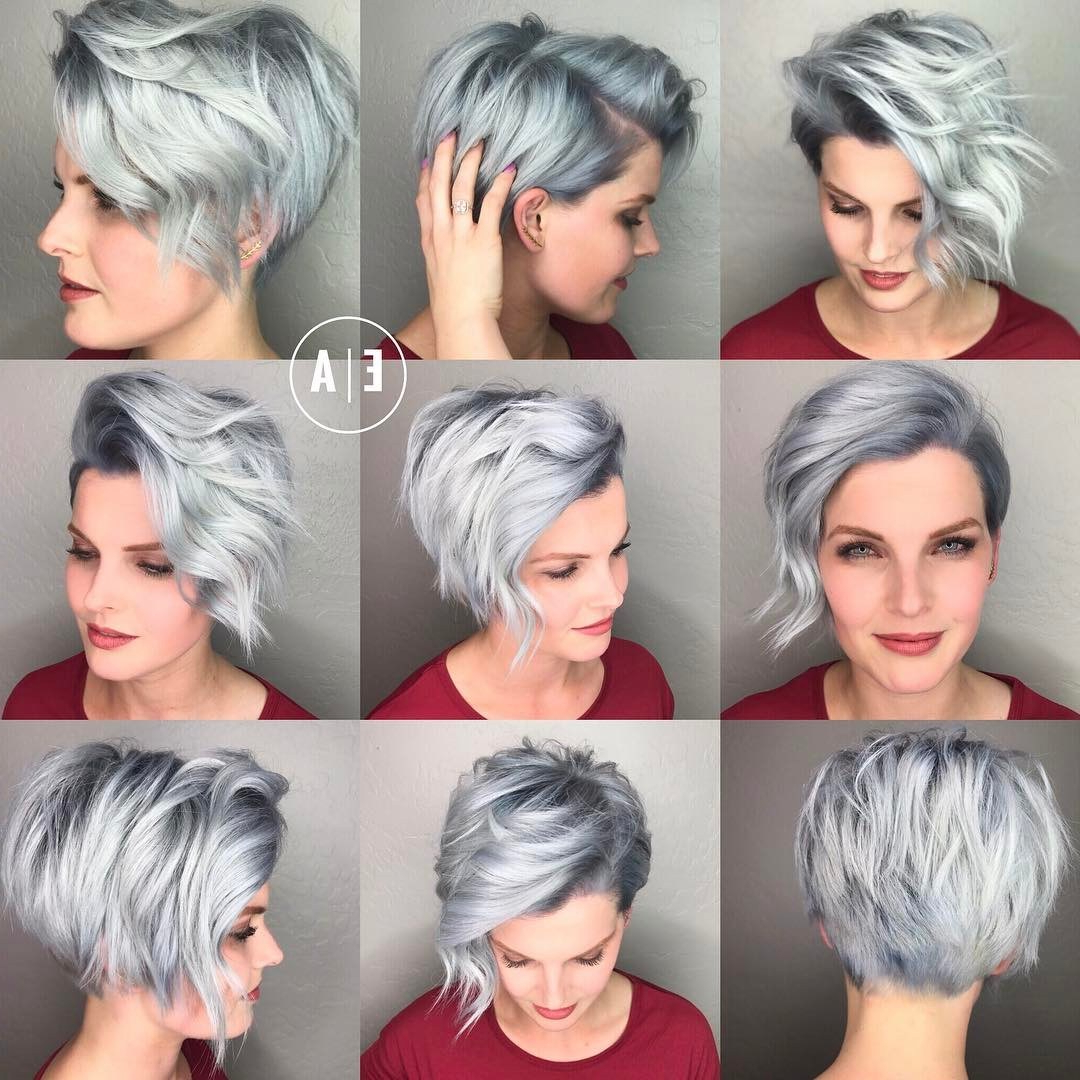 Short Hairstyles For Oval Face | 30 Cute Pixie Cuts Short Hairstyles Pertaining To Short Haircuts For Chubby Oval Faces (View 19 of 25)