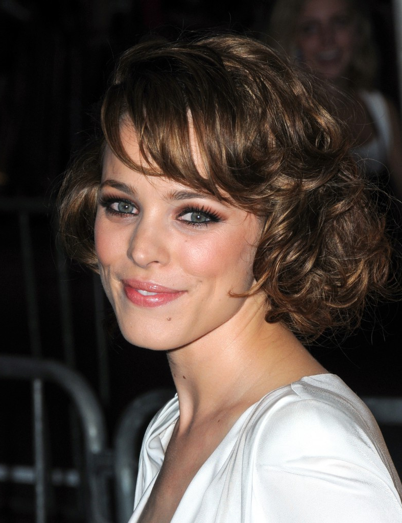 Short Hairstyles For Oval Faces With Wavy Hair Pertaining To Layered Haircuts For Short Curly Hair (View 10 of 25)
