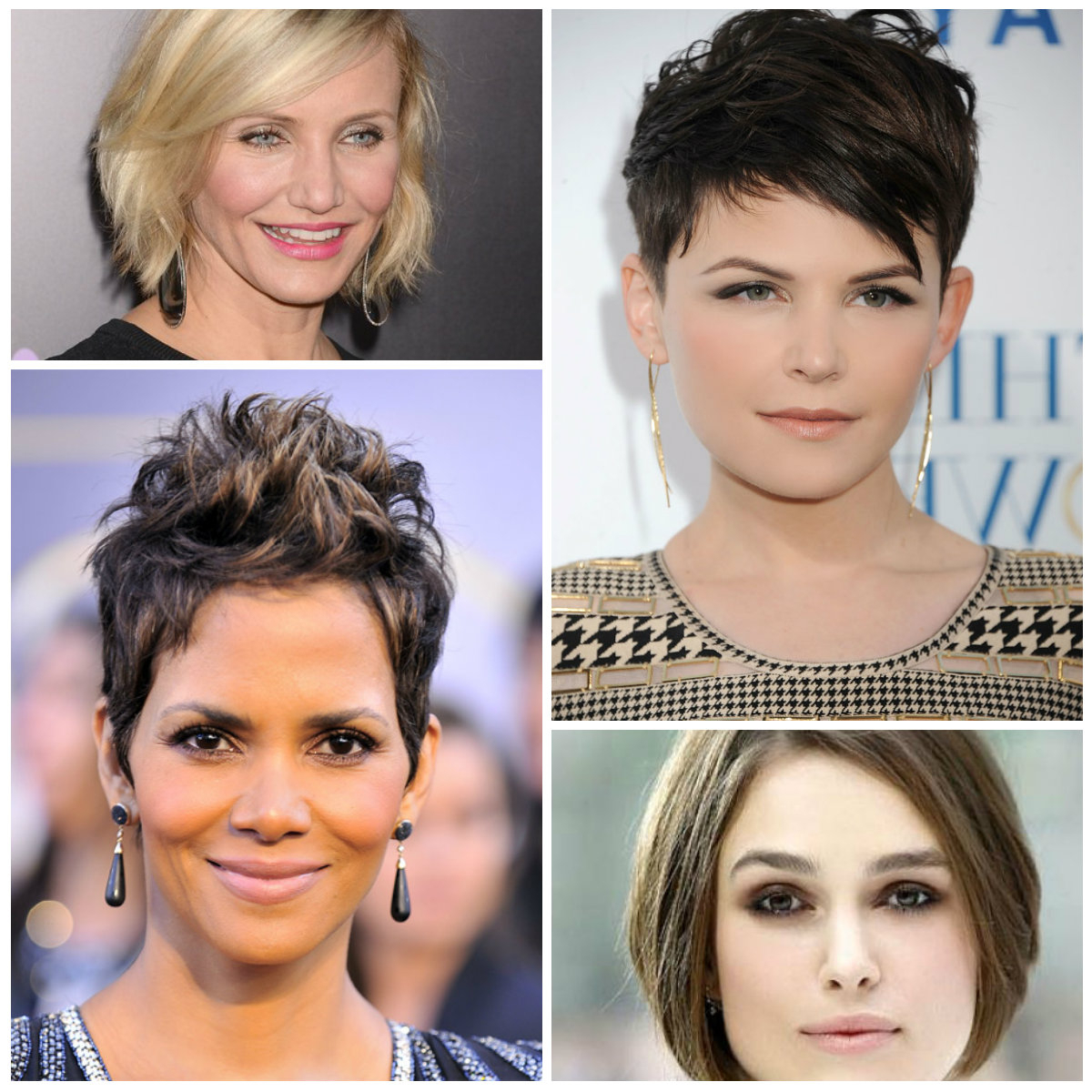 Short Hairstyles For Round Faces 2017 – Hairstyles Ideas With Regard To Short Haircuts For Chubby Oval Faces (View 24 of 25)