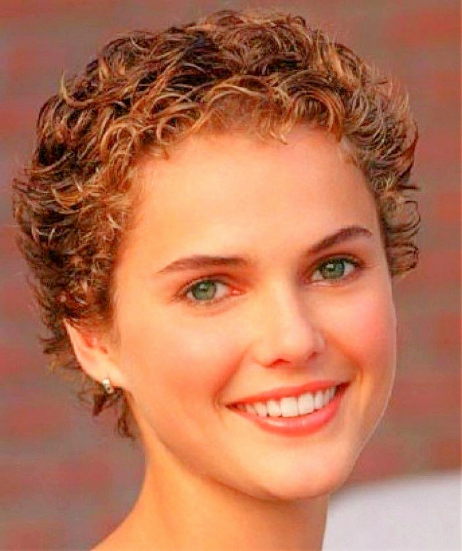 Short Hairstyles For Round Faces And Thick Curly Hair Curly Short For Thick Curly Short Haircuts (View 23 of 25)