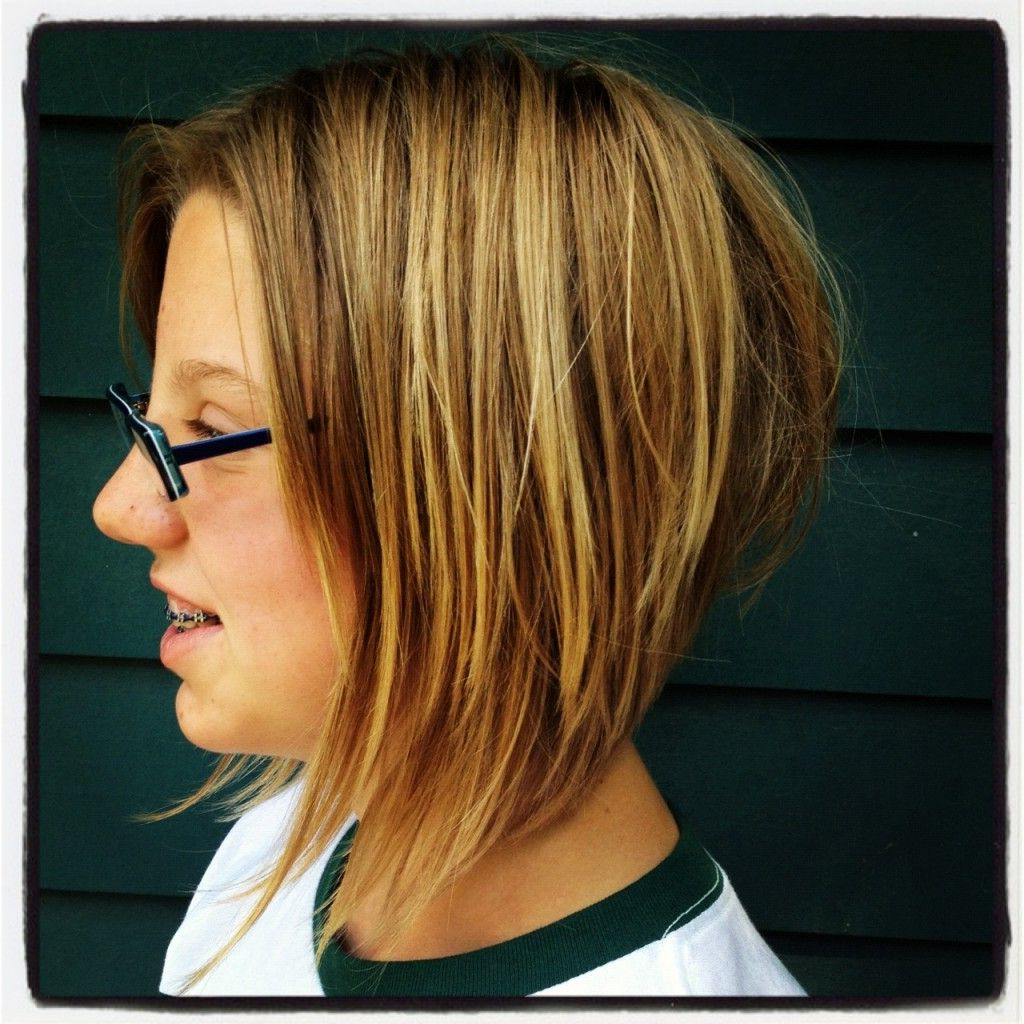 Short Hairstyles For Round Faces And Thick Hair 2013  Does She Have With Regard To Short Hairstyles For Heavy Round Faces (View 22 of 25)