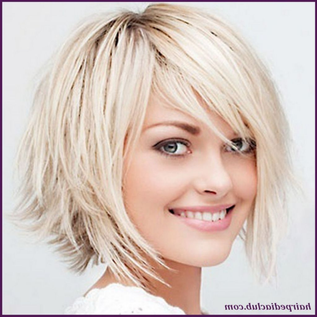 Short Hairstyles For Round Faces And Thick Hair – Leymatson Pertaining To Short Haircuts For Women Round Face (View 24 of 25)