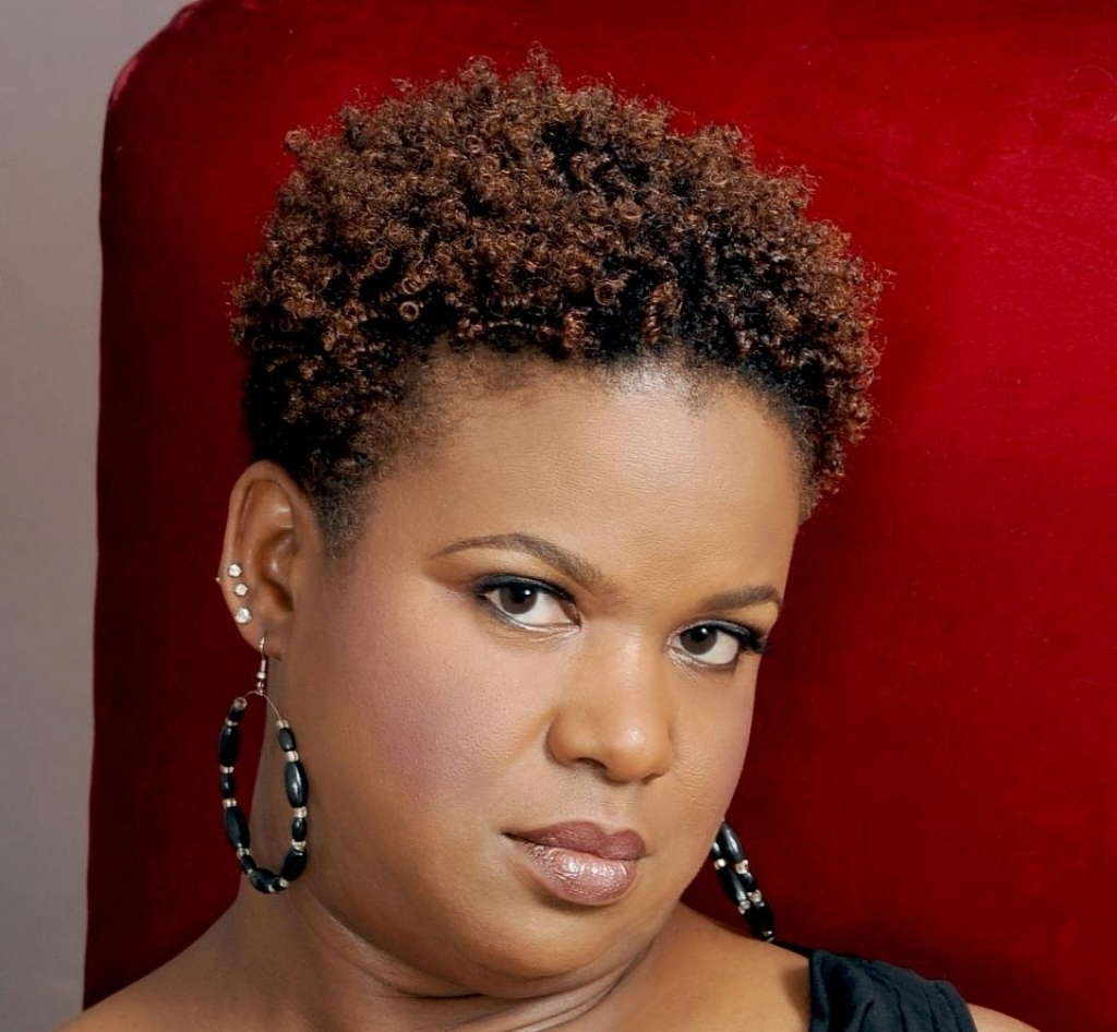 Short Hairstyles For Round Faces Black Natural Hair – Best Hairstyle Inside Black Short Haircuts For Round Faces (View 20 of 25)