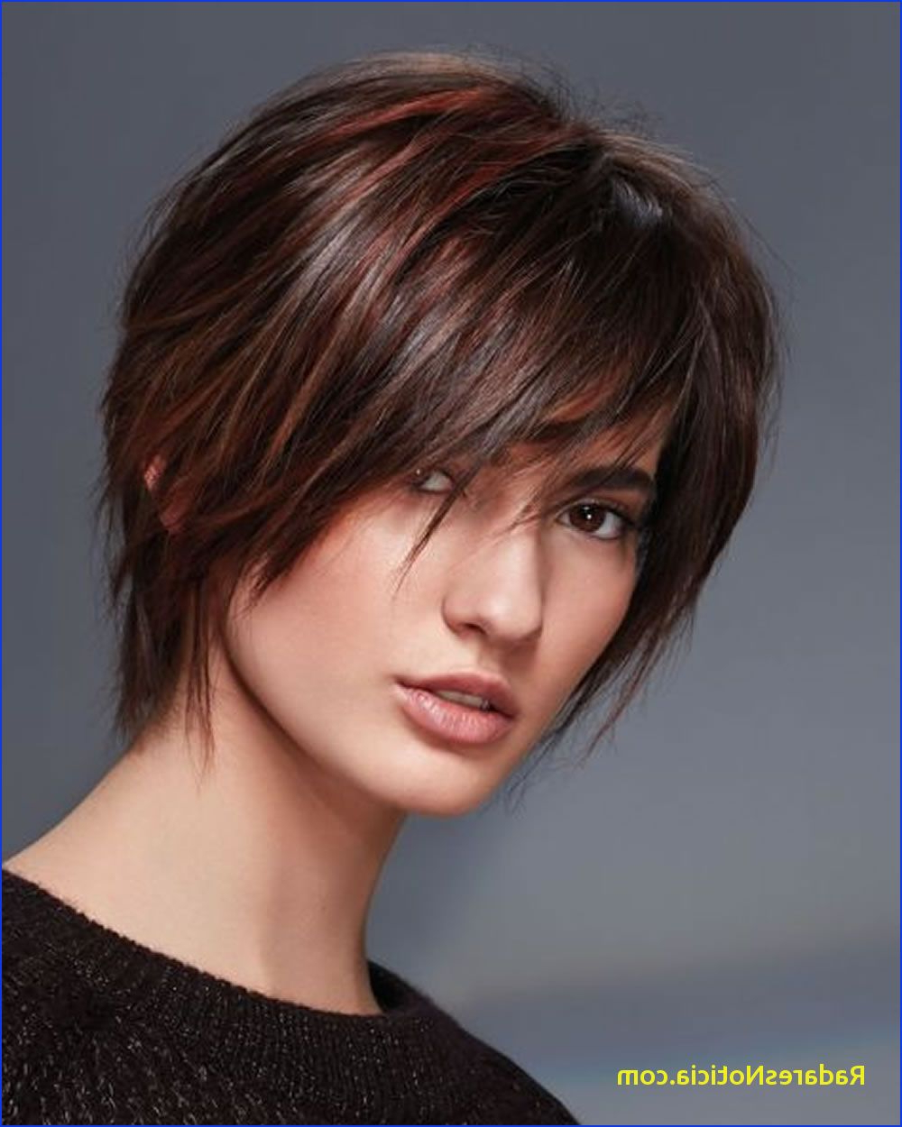 Short Hairstyles For Round Faces Hey La S Best 13 Short Haircuts For Throughout Short Hairstyles With Bangs For Round Face (View 19 of 25)