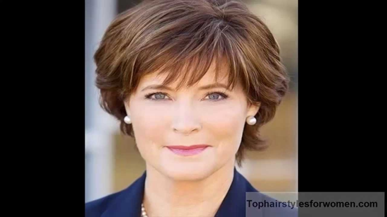 Short Hairstyles For Round Faces Over 60   Hair And Hairstyles With Short Haircuts For Round Face Women (View 19 of 25)