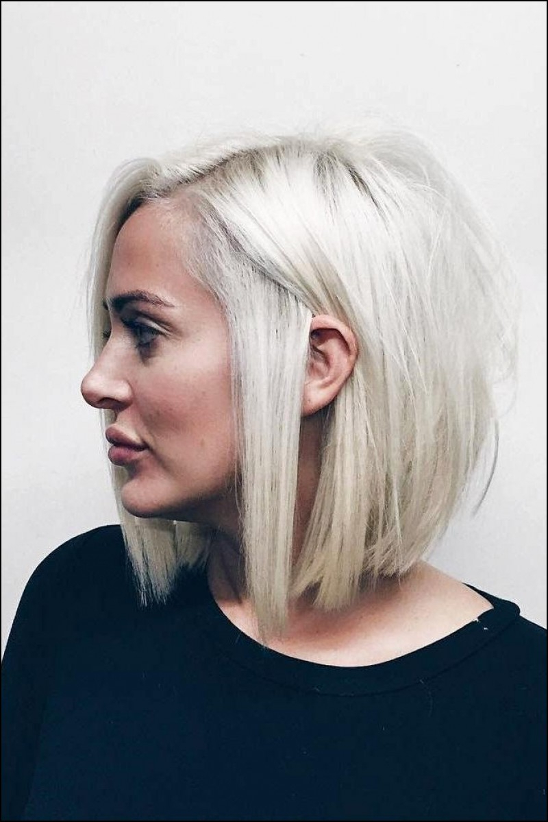 Short Hairstyles For Round Faces With Double Chin | New Inspiration With Regard To Short Hairstyles For Round Faces With Double Chin (View 6 of 25)