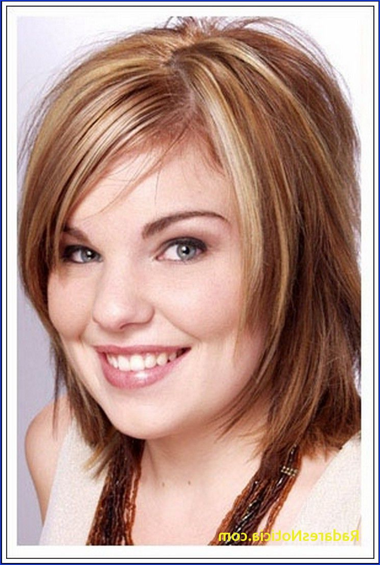 Short Hairstyles For Round Faces With Double Chin Short Hairstyles Intended For Short Hairstyles For Fat Faces And Double Chins (View 7 of 25)