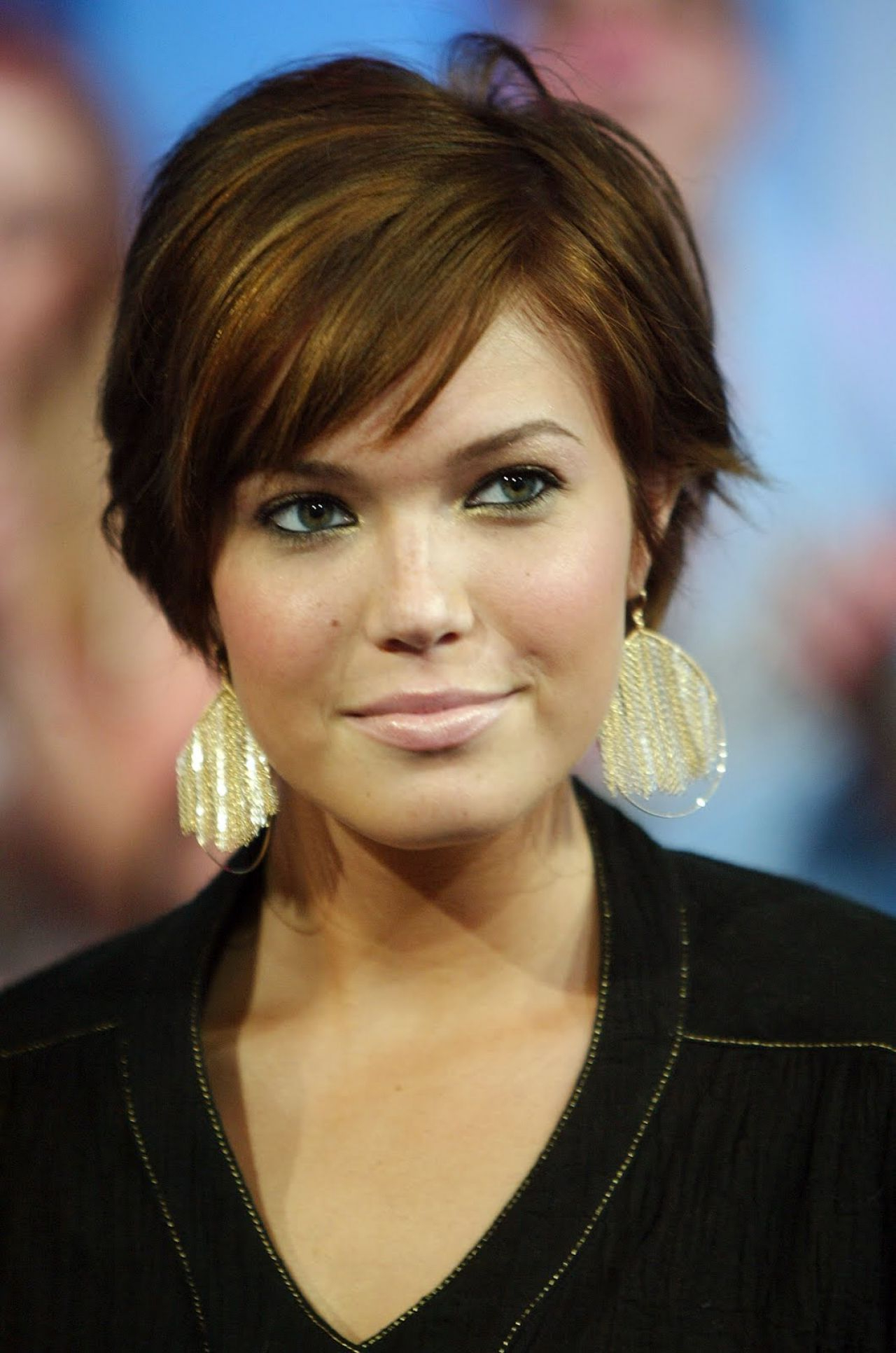 Short Hairstyles For Square Faces Female – Google Search Throughout Short Haircuts For Round Faces And Thick Hair (View 16 of 25)
