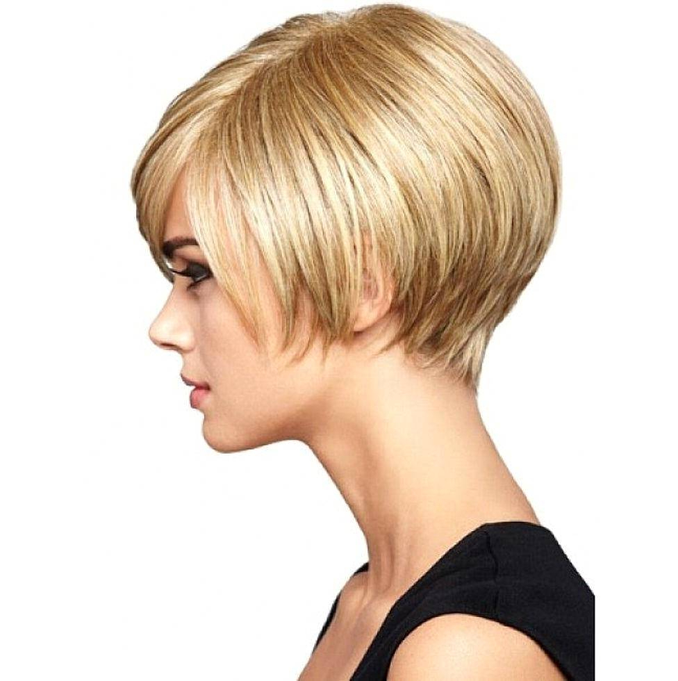 Short Hairstyles For Thick Hair – Amazinghairstyle (View 22 of 25)