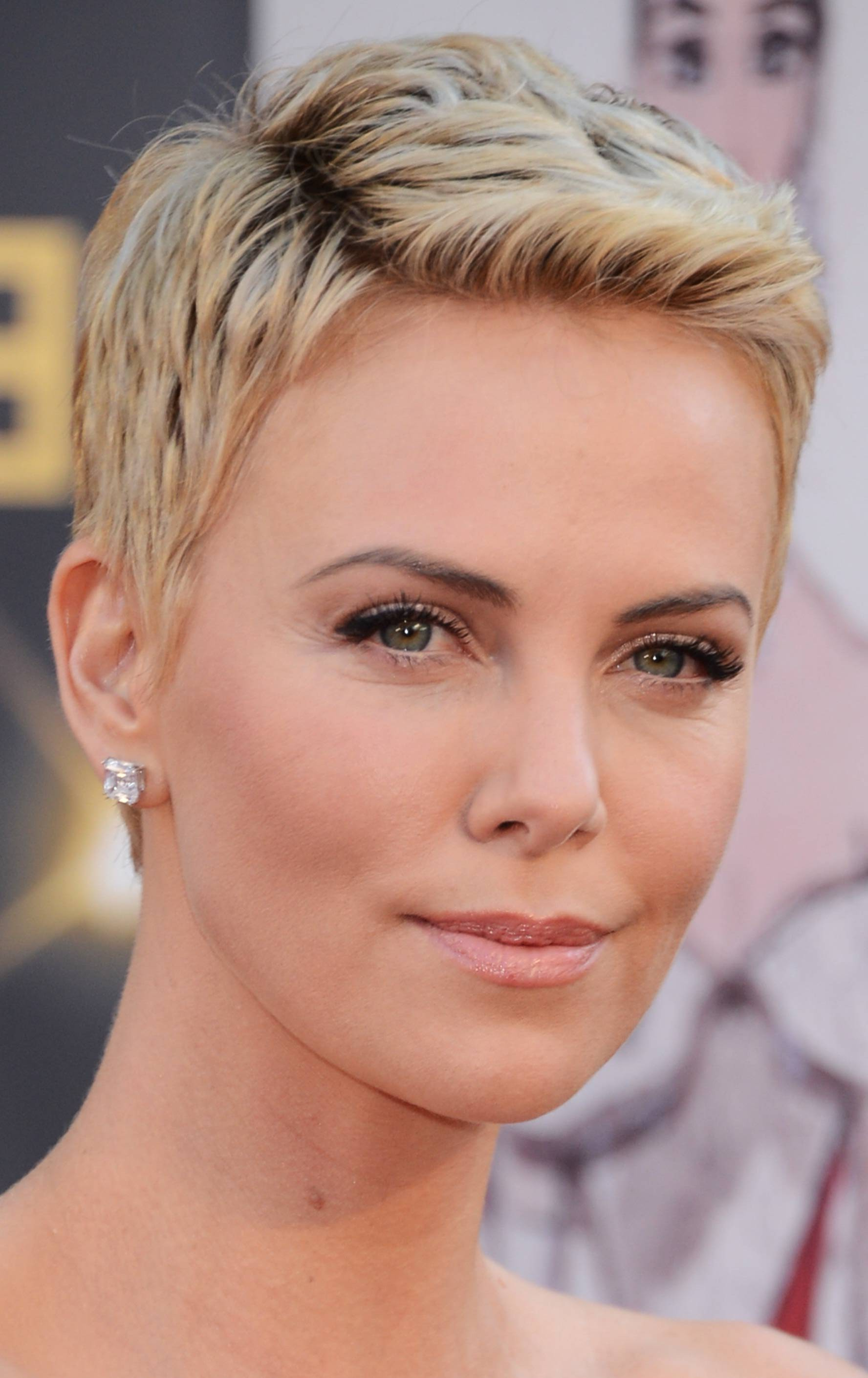 Short Hairstyles For Thick Hair And Round Faces Pinterest Short For Short Haircuts For Round Faces And Thick Hair (View 25 of 25)