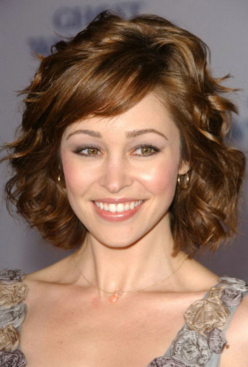 Short Hairstyles For Thick Wavy Hair 2014 – Hairstyle For Women & Man Intended For Short Hairsyles For Thick Wavy Hair (View 5 of 25)