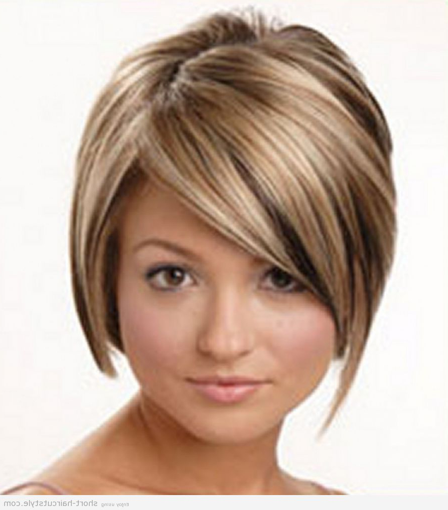 Short Hairstyles For Thin Hair And Glasses   Hairtechkearney Regarding Short Haircuts For Thin Hair And Oval Face (View 25 of 25)