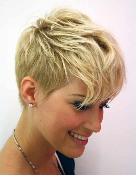 Short Hairstyles For Thin Hair – Hair World Magazine Inside Razored Pixie Bob Haircuts With Irregular Layers (View 16 of 25)