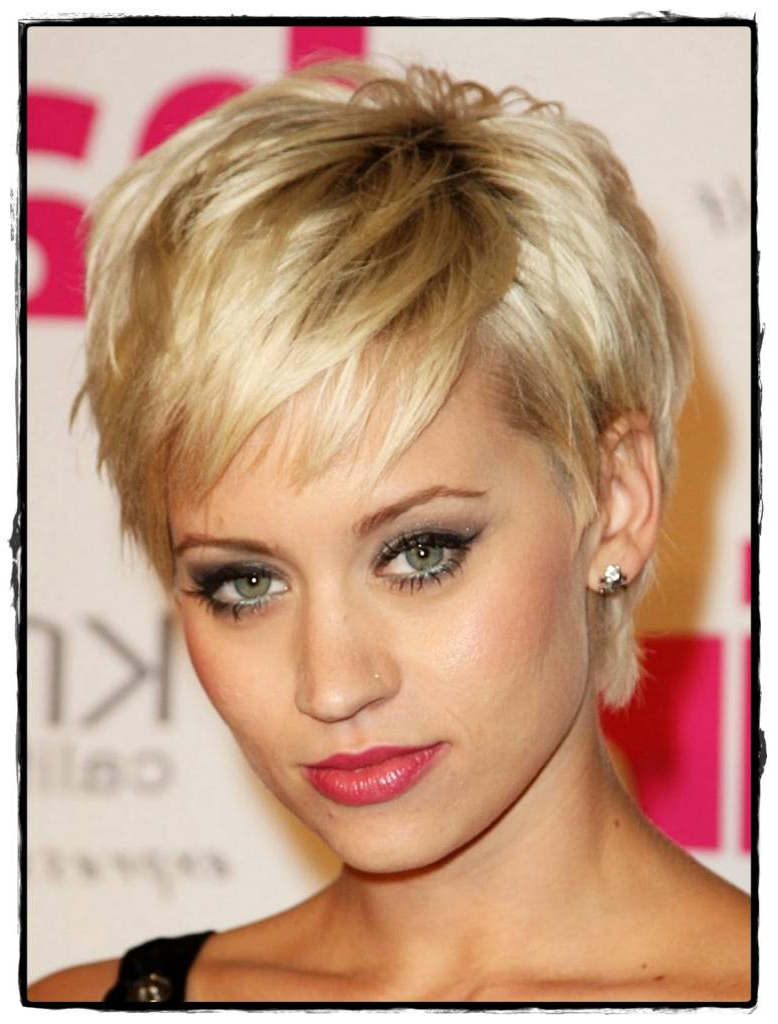 Short Hairstyles For Thinning Hair On Top – Weddinghairstyles (View 22 of 25)