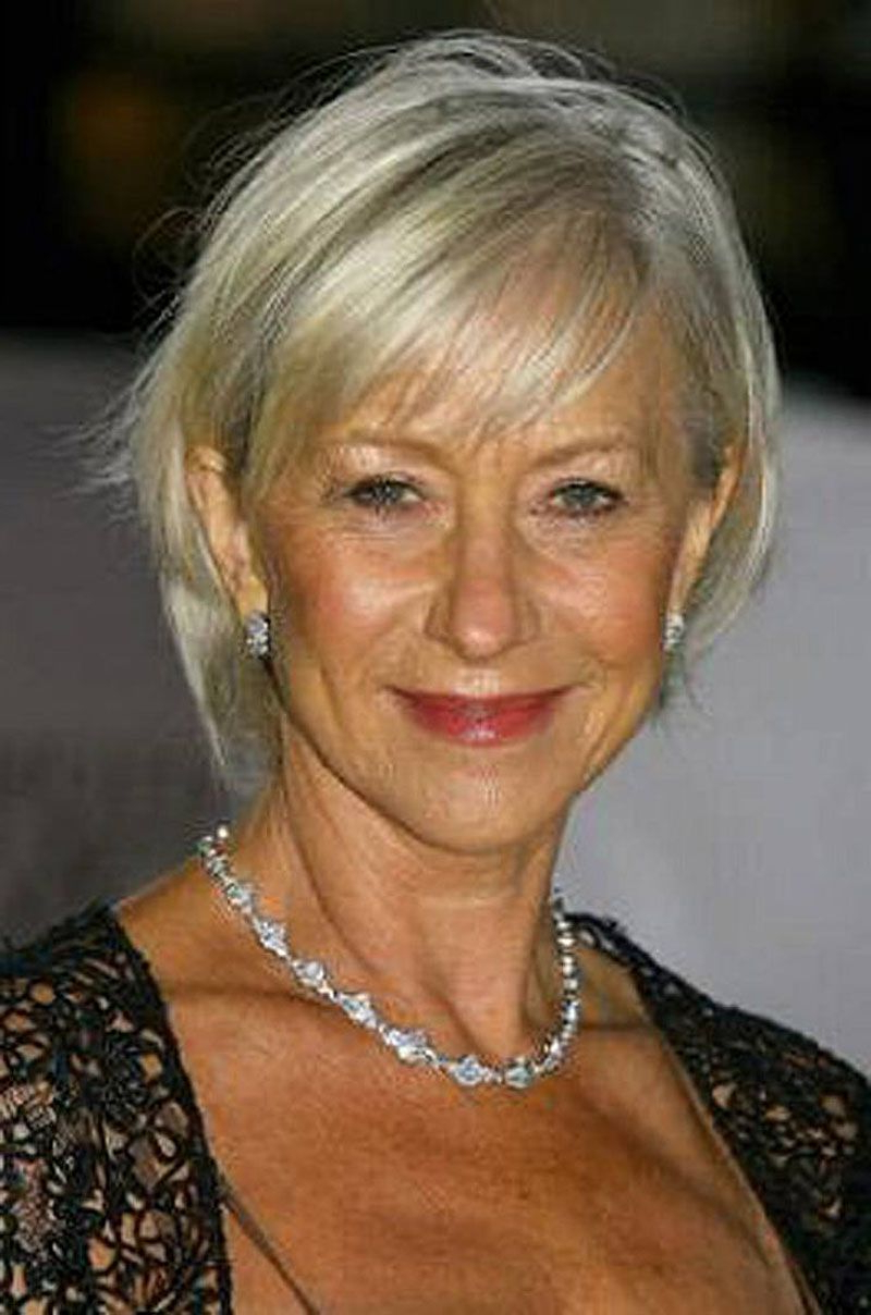 Short Hairstyles For Women Over 50 With Fine Hair | New Hair Intended For Over 50S Short Hairstyles (View 10 of 25)