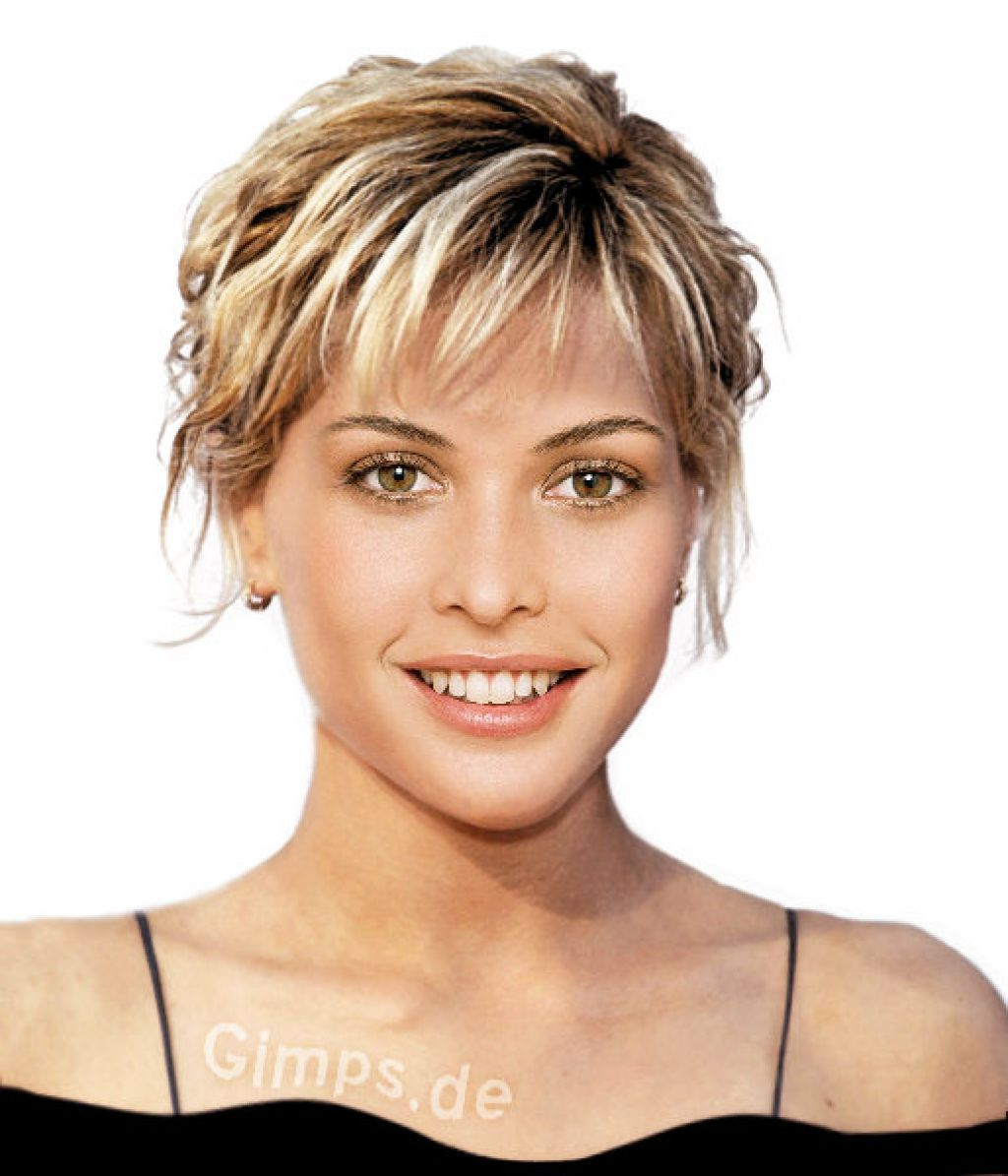 Short Hairstyles For Women Over 50 With Thick Hair – Hairstyle For Within Ladies Short Hairstyles For Thick Hair (View 6 of 25)