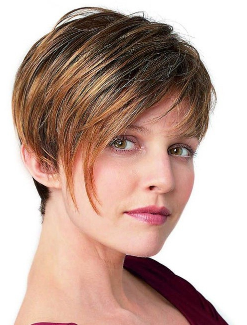 Short Hairstyles For Women Thick Hair – Popular Haircuts Within Straight Pixie Hairstyles For Thick Hair (View 9 of 25)