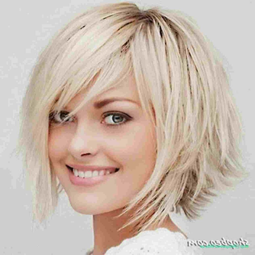 Short Hairstyles For Women With Thick Wavy Hair Cuts And Within Low Maintenance Short Hairstyles (View 16 of 25)