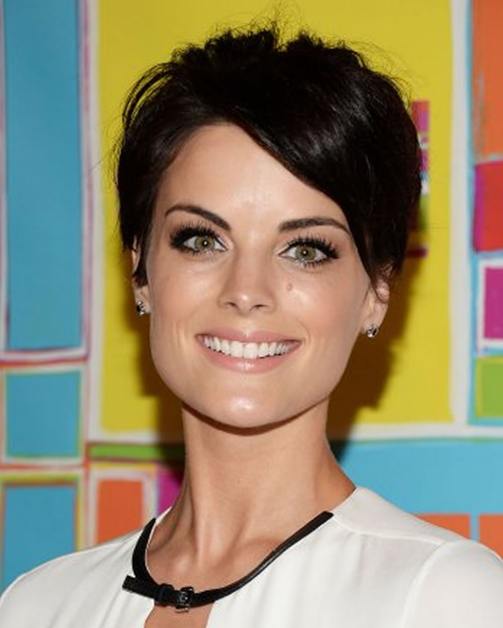 Short Hairstyles From Celebrities Jaimie Alexander – Hairstyles Throughout Celebrities Short Haircuts (View 22 of 25)