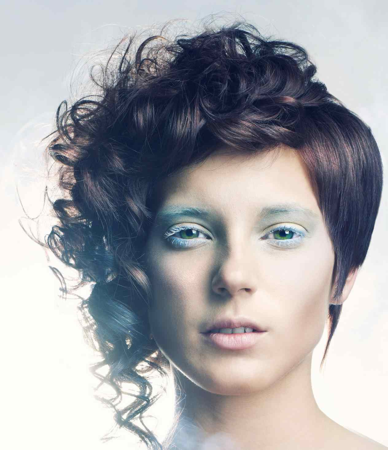Short Hairstyles Girls With Hair Mohawk Very Curly Pixie Cut Tumblr For Short Curly Hairstyles Tumblr (View 12 of 25)