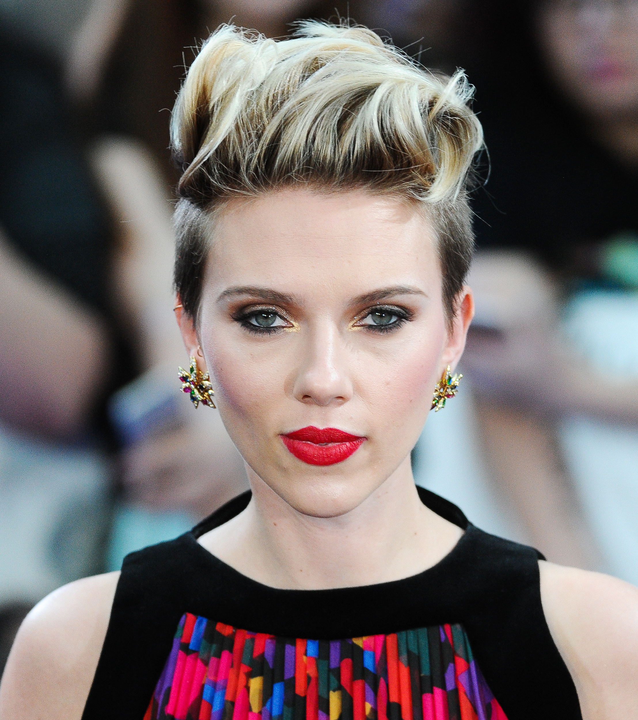 Short Hairstyles Inspiredcelebrity 'dos Within Scarlett Johansson Short Hairstyles (View 22 of 25)