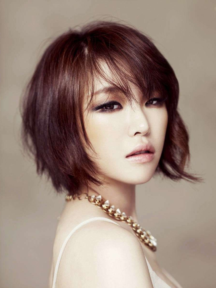 Short Hairstyles Korean | Hairstyle | Bob Hairstyles | Pinterest In Korean Short Bob Hairstyles (View 5 of 25)