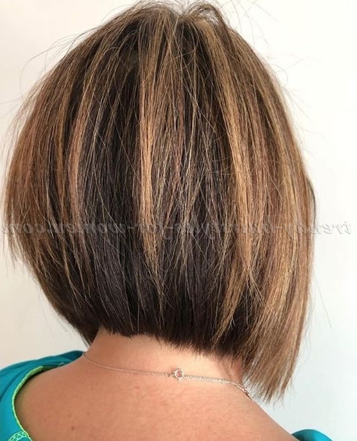 Short Hairstyles Over 50 – Razored Bob Haircut   Trendy Hairstyles With Razored Brown Bob Hairstyles (View 17 of 25)