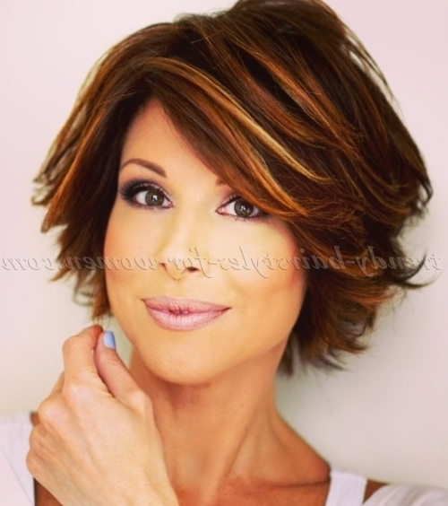 Short Hairstyles Over 50 – Short Layered Hairstyle | Trendy Intended For Short Layered Hairstyles (View 14 of 25)