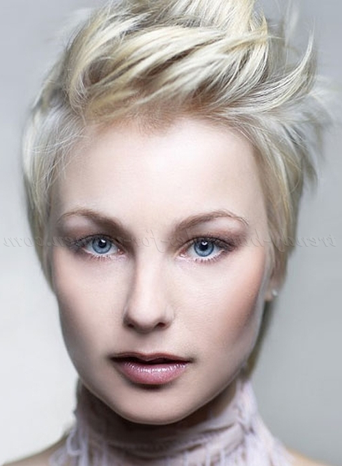 Short Hairstyles – Short Spiky Hairstyle For Women | Trendy In Short Spiked Haircuts (View 14 of 25)