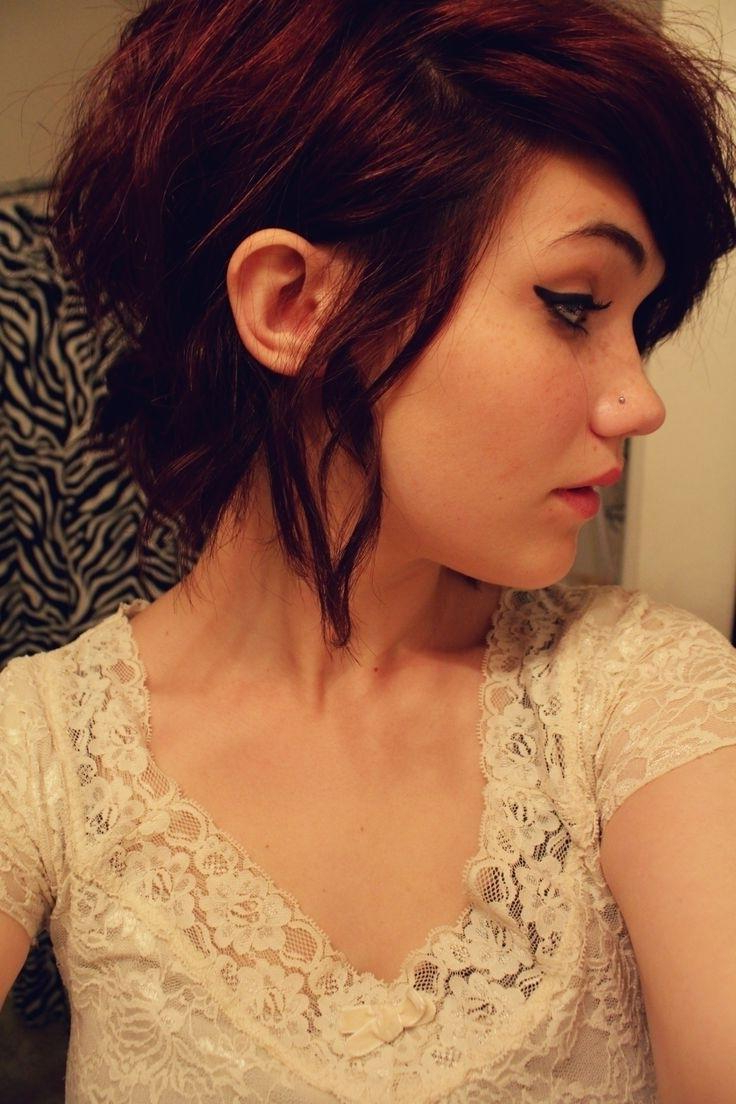Short Hairstyles Tumblr – Short And Cuts Hairstyles Within Short Curly Haircuts Tumblr (View 5 of 25)