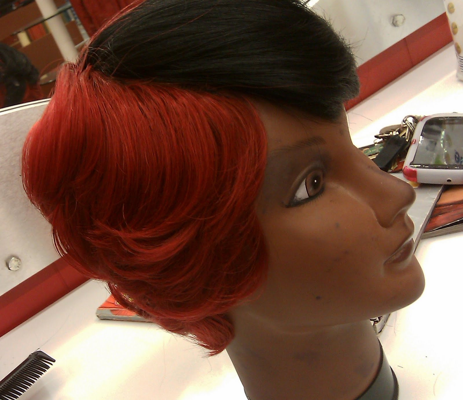 Short Hairstyles Using 27 Piece Regarding Bright Red Short Hairstyles (View 13 of 25)