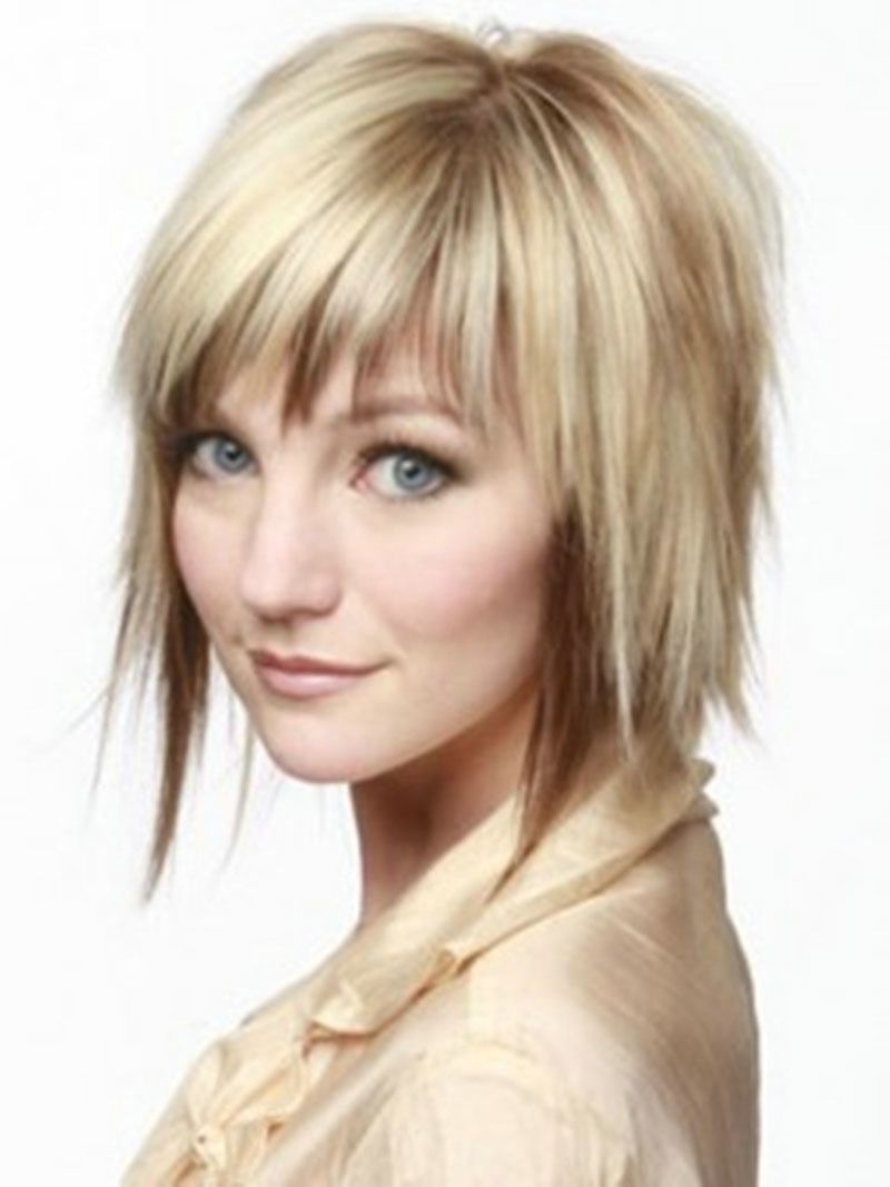 Short Hairstyles With Layers And Bangs – Hairstyles Ideas Within Layered Short Hairstyles With Bangs (View 12 of 25)