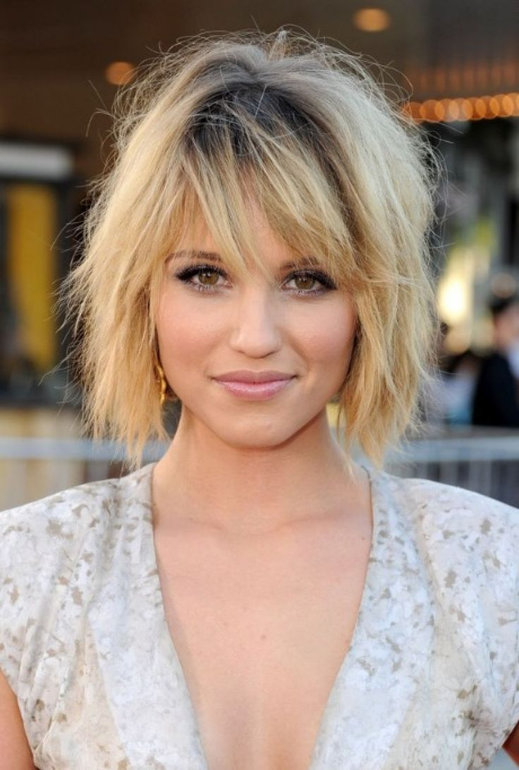 Short Hairstyles With Layers And Side Bangs – Hairstyles Ideas Within Short Haircuts With Bangs And Layers (View 9 of 25)