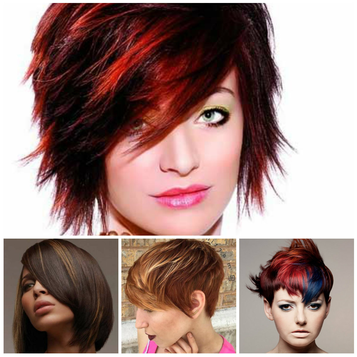 Short Hairstyles With Trendy Highlights 2018 – Best Hairstyle Models For Short Hairstyles And Highlights (View 6 of 25)