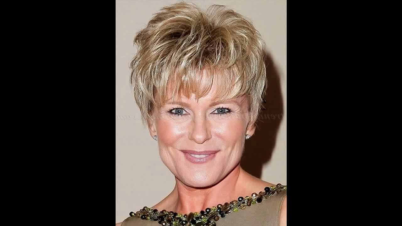 Short Hairstyles Women Over 50 2017 – Youtube With Short Women Hairstyles Over  (View 15 of 25)