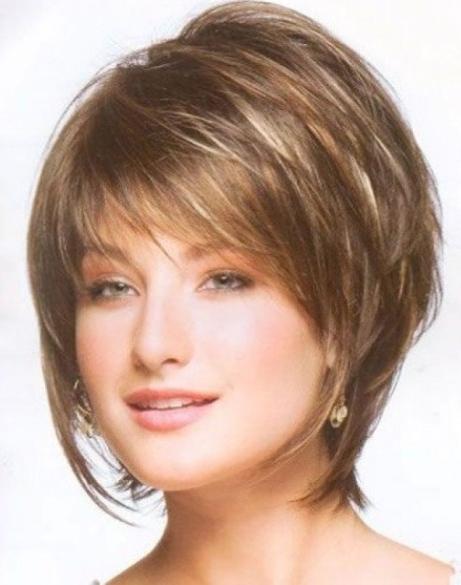Short Layered Bob Haircut For Thin Hair In Layered Bob Haircuts For Fine Hair (View 5 of 25)