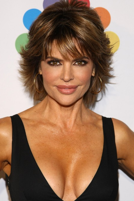 Short Layered Haircut For Thick Hair: Lisa Rinna Hairstyles Intended For Layered Haircuts For Thick Hair (View 24 of 25)