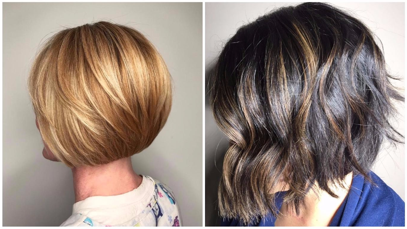 Short Layered Haircuts | 30 New Ideas Of Short Hair With Layers 2018 Pertaining To Short Haircuts With Bangs And Layers (View 14 of 25)