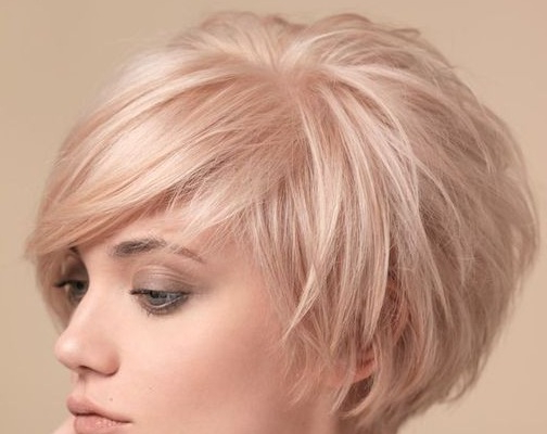 Short Layered Haircuts Fine Hair For Womens And Girls Around Thin Pertaining To Short Layered Hairstyles (View 22 of 25)